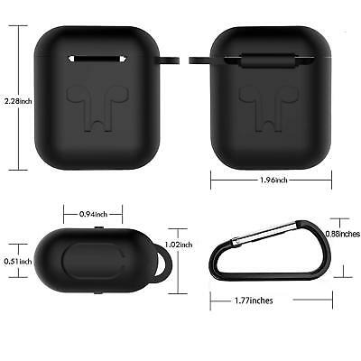 AirPods Silicone Case Cover Protective Skin for Apple AirPod Charging Case 12