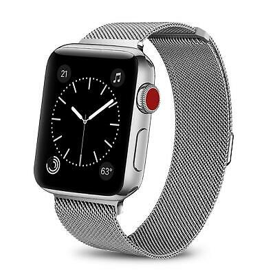 For iWatch Apple Watch Series 3/2/1 Watch Metal Band Strap Adjustable 38mm/42mm 4