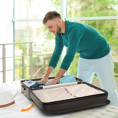Aerolite Lightweight Luggage Set ABS Hard Shell 4 Wheel Spinner Suitcase 3-Piece 5