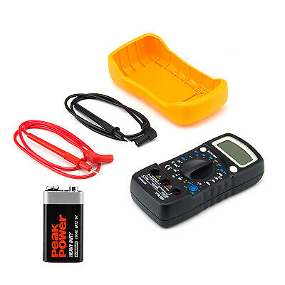 Digital Voltmeter Ammeter Ohmmeter Multimeter Volt AC DC Tester Meter US Seller 7