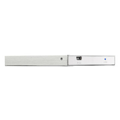 Bipra 80GB 2.5 inch USB 2.0 NTFS Slim External Hard Drive - Silver