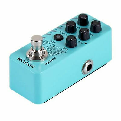 Mooer E7 Synth Polyphonic Guitar Synthesizer Pedal Just Released 4