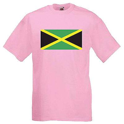 Jamaica Flag Children's Kids T Shirt 7