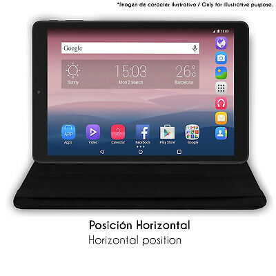 "Funda giratoria 360º tablet para BQ Edison 3 10.1"" 5"