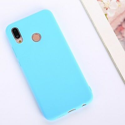 Candy Color Case for Huawei Y5 Y6 Y7 Y9 Honor 8x P20 Cover Smart Soft Silicon 8