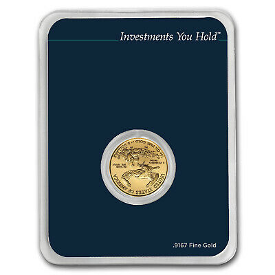 2019 1/10 oz Gold American Eagle (MintDirect® Single) - SKU#171452 2