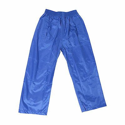 DRY KIDS Waterproof Over Trousers Rain Children Boys & Girls Childs age 2-13 3