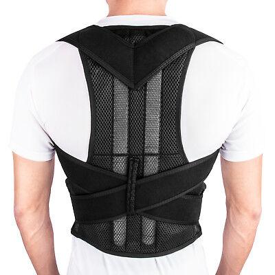 Back Posture Correction Shoulder Corrector Support Brace Belt Therapy Men Women 2