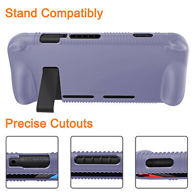 For Nintendo Switch Console Joy-Con Silicone Case Soft Shock Proof Grip Cover 4