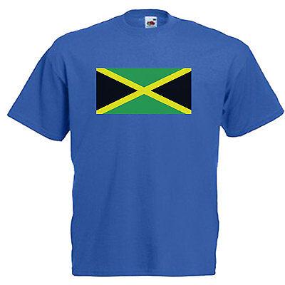 Jamaica Flag Children's Kids T Shirt 3