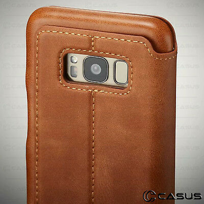 For Galaxy Note 10/9/8 S10/S9 Plus Leather Wallet Stand Thin Slim Case Cover 4