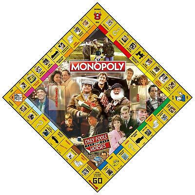 Only Fools and Horses Monopoly Game with Silver Token Pieces FREE POSTAGE 3