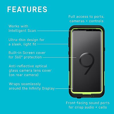 Galaxy S10 S9 Plus Case Genuine Lifeproof Shock Water proof Cover For Samsung 7
