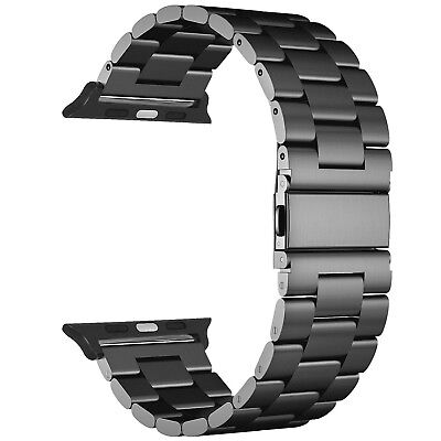 For iWatch Apple Watch Series 5/4 44mm Stainless Steel Band Strap Bracelet 4