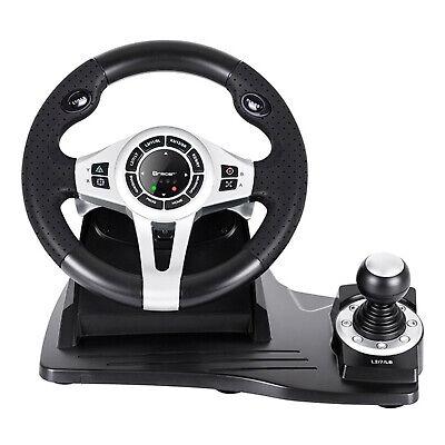 Lenkrad 4 in 1 für PC/PS3/PS4/Xone 2-Pedalset Ganghebel 270-Grad-Rotati 3
