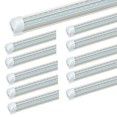 25-Pack JESLED 8FT LED Tube Light 72W 7800LM 6500K T8 Integrated LED Shop Lights 3
