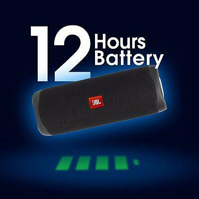 JBL Flip 5 Portable Waterproof Bluetooth Speaker - Black 3