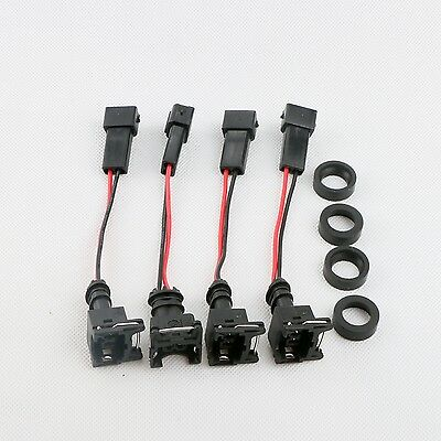 Tested EV1 Fuel InjectorsX4 Fit Honda B16 B18 B20 D16 D18 F22 H22 H22A 1000cc