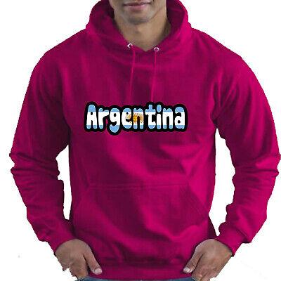 Argentina Flag Love Childrens Childs Kids Boys Girls Hoodie Hooded Top 4
