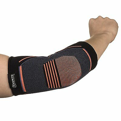 Kunto Fitness Elbow Brace Compression Support Sleeve for Tendonitis, XS, S, M, L 3