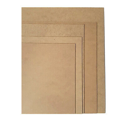 """MDF Backing Board Panels for Framing, Art, Painting - 10 x 8"""" PACK OF 10 4"""