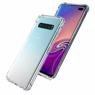 Samsung Galaxy S10e S10 S8 S9 Plus Note 9 10+ Clear Case Shockproof Bumper Cover 3