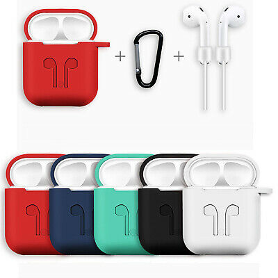 AirPods Silicone Case Cover Protective Skin for Apple AirPod Charging Case 2