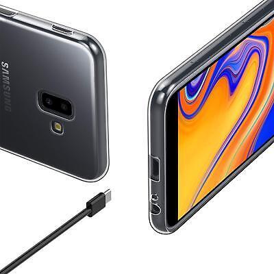 Vitre Protection Film Verre trempé Pour Samsung J6 2018 J6 Plus+ Coque Silicone 6