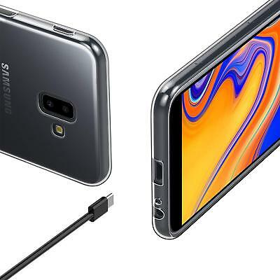 Vitre Protection Film Verre trempé écran Samsung J6 2018 J6 Plus+ Coque Silicone 7