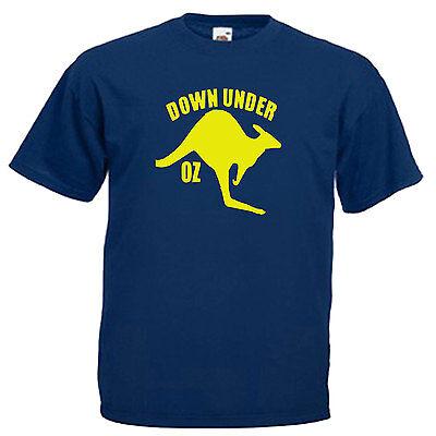 Australia Kangaroo Adults Mens T Shirt 9