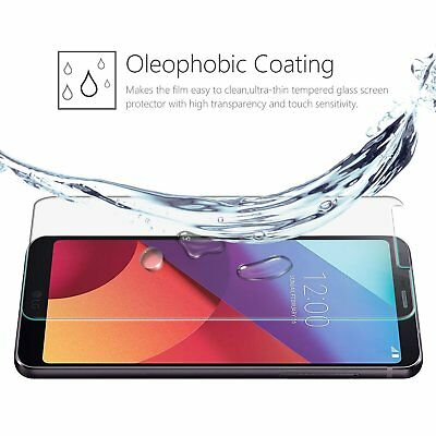 2x LG G6 Tempered Glass / Pet Screen Protector Film Guard LCD Protector 2