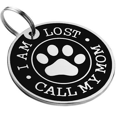 Dog ID Tag Free Custom Personalized Engraved Enamel Pet Puppy Cat Name Charm S L 7