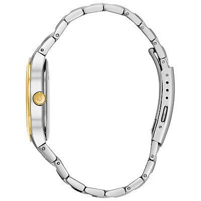 Bulova Men's 98C60 Quartz Champagne Dial Two-Tone Bracelet 36mm Watch 2