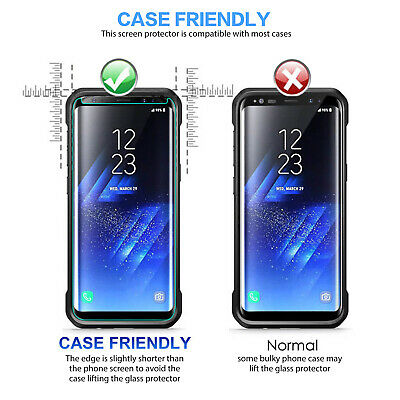 Samsung Galaxy S10 5G S9 8 Plus S10e Note 10 9 8 Tempered Glass Screen Protector 7
