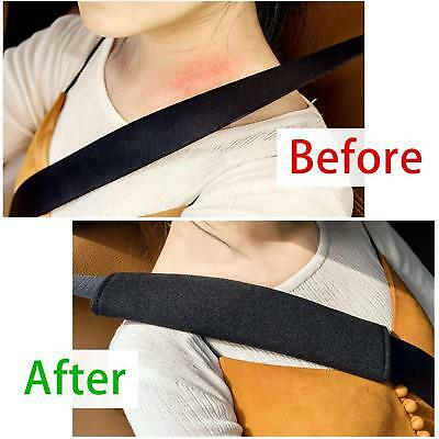 2x Car Seat Belt Pads Harness Safety Shoulder Strap BackPack Cushion Covers kids 5