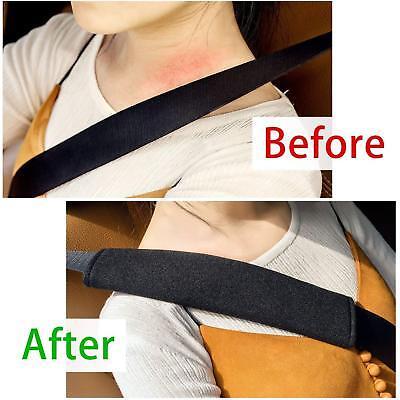 Car Seat Belt Pads Harness Safety Shoulder Strap Cushion Covers Children UK 5
