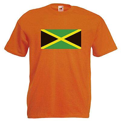 Jamaica Flag Children's Kids T Shirt 5