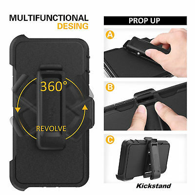 For Apple iPhone SE 5s 5 Case Cover w/ Belt Clip | Fits Otterbox DEFENDER SERIES 5