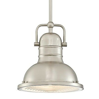 Brushed Nickel Pendant Light Fixture Modern