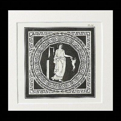 Aphrodite- Antique Hamilton & Kirk Engraving Print 2