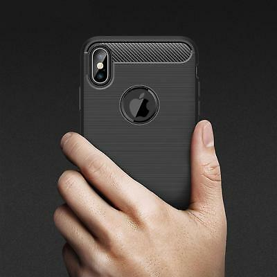 For iPhone XR X XS Max 7 8 Plus 8+ Heavy Duty Shockproof Tough Rubber Case Cover 4