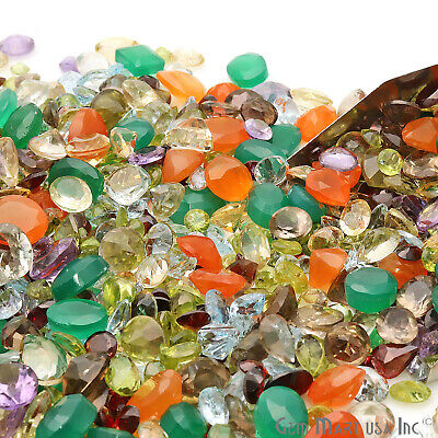 Choose Mixed Gems Lot Mix Faceted Cut Semi Precious Stone Natural Loose Gemstone 10