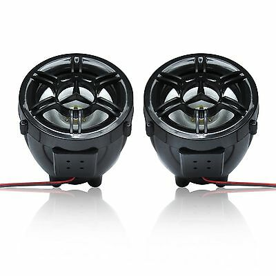 3' UTV/ATV/Snowmobile/Marine Amplified Speaker System Bluetooth