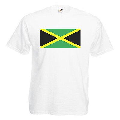 Jamaica Flag Children's Kids T Shirt 2