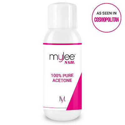 Mylee 100% Pure Acetone Superior Quality Nail Polish Remover UV/LED GEL Soak Off 2