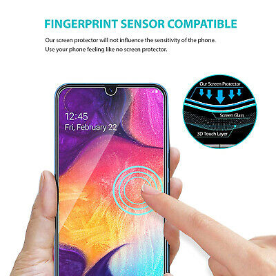 Samsung Galaxy A20 A30 A50 A70 ZUSLAB Full Cover Tempered Glass Screen Protector 5