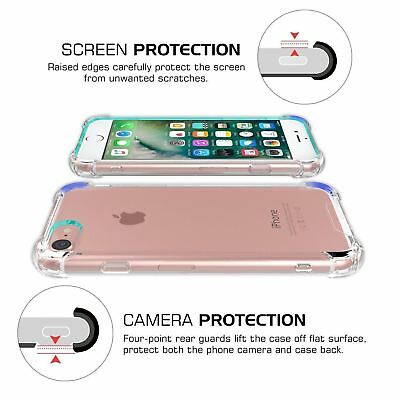 Case for iPhone XR XS Max 6s 7 8 5s Plus Cover Bumper Shock Proof Silicone Phone 4