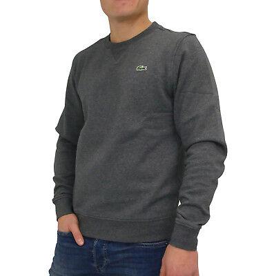 online store f2233 6c150 LACOSTE SPORT SWEATSHIRT Pullover Langarm Rundhals Herren SH7613 050 Grau