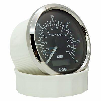 KUS BOAT GPS Speedometer 0-60 Knots 110 km/h Marine Truck Analogue Speed  Gauge