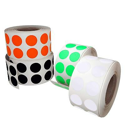 Dot Stickers Rolls Round Labels 1/2 inch Circles 13mm For Organizing 1080 Pack 4